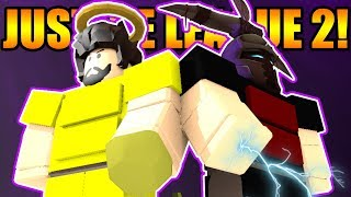 THE VOID JUSTICE LEAGUE 2! | ROBLOX: Booga Booga