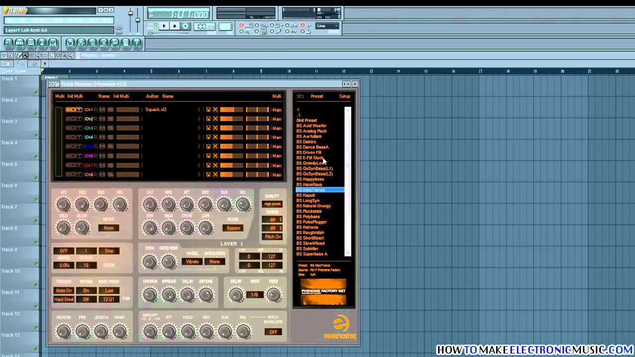 Phenome Free Soundfont Player By Prodyon Virtual Gear