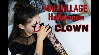 🎃 MAQUILLAGE HALLOWEEN / LOOK CLOWN