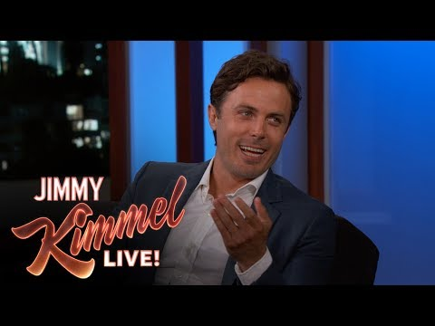 Casey Affleck Got into His First Car Accident