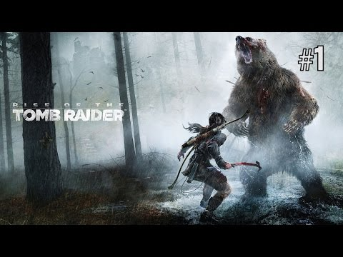 Twitch Livestream | Rise of the Tomb Raider Part 1 [Xbox One