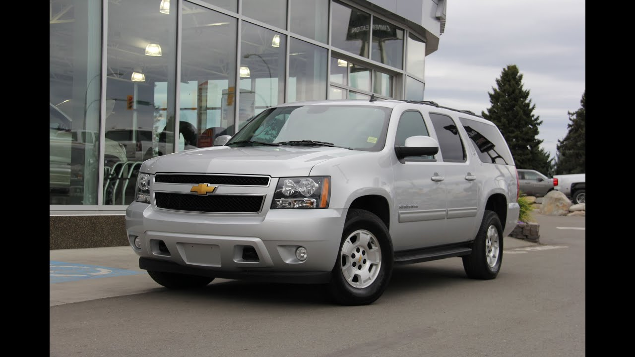 2014 Chevrolet Suburban LT Walk Around - YouTube