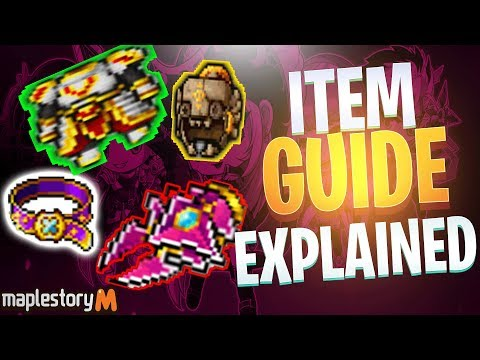 Maplestory M Equipment Guide- Indepth Analysis On Items And Best In Slot Items Explained