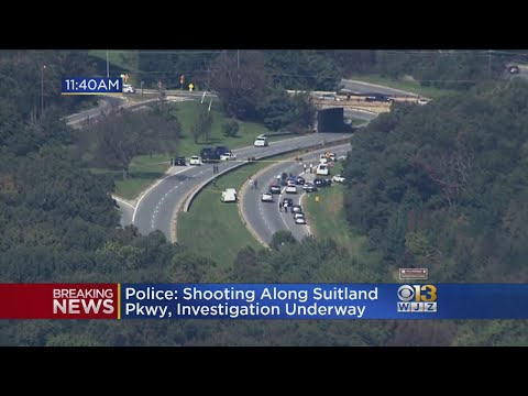 Suitland Parkway Closed Both Ways After Shooting