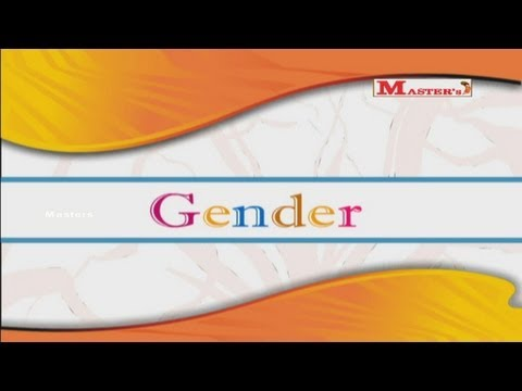 Gender - English Animation Video for Kids