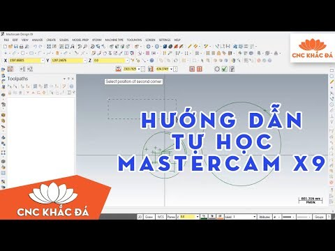 Download phần mềm Mastercam x5, x7, x9, x10 full crack 2017