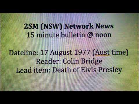 2SM News 17 Aug 1977, Elvis leads