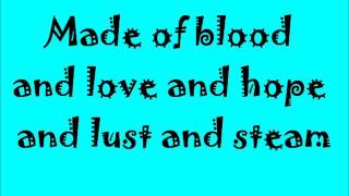 Sugarland- Incredible Machine with lyrics