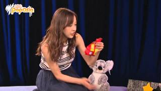 J-pop idol Tomomi Itano tries Australian snacks