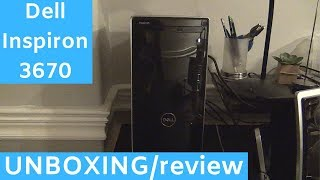 Dell Inspiron 3670 UNBOXING