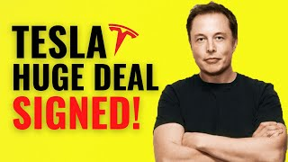 TESLA SIGNS HUGE CONTRACT!! Th…