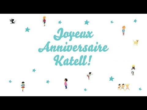 ♫ Joyeux Anniversaire Katell! ♫