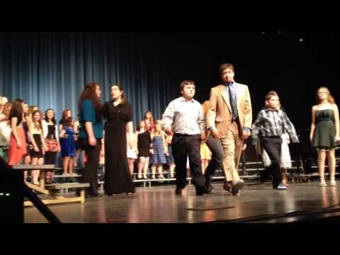 "Peru Junior High School Choir 2013-14 performs ""Dancin' to the '60s"""