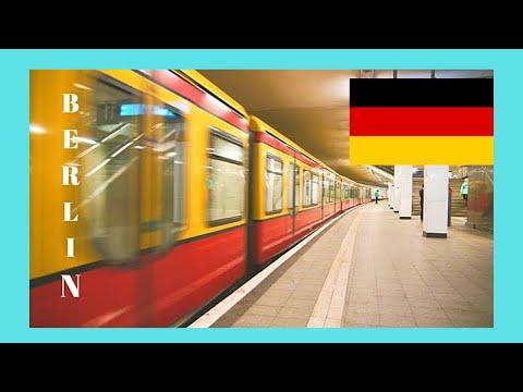 BERLIN: The very modern METRO (SUBWAY, UNDERGROUND), GERMANY