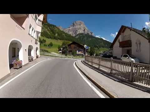 Passo Gardena - Colfosco - Corvara with TDM 900 & GoPro Hero 2