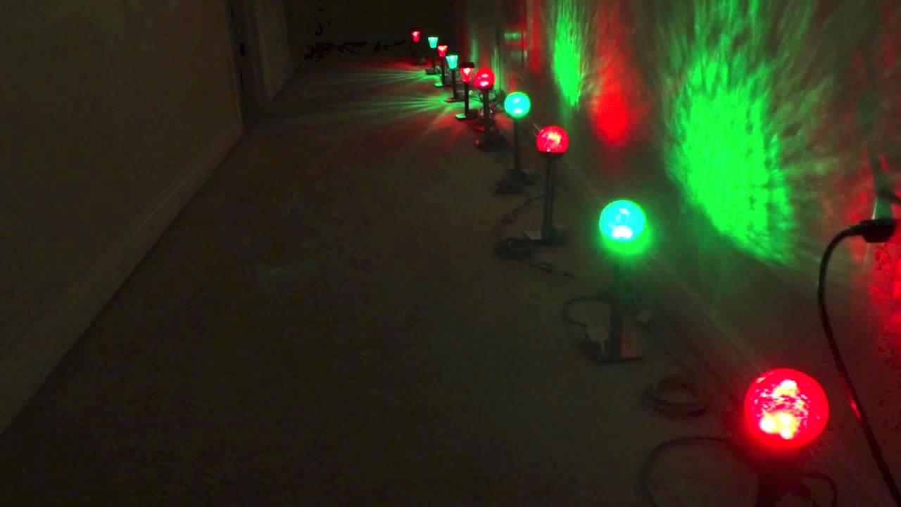 Low cost RGB DMX LOR Landscape Lights | Lightorama | Party | Pathway Lights  | Solar Lights - YouTube - Low Cost RGB DMX LOR Landscape Lights Lightorama Party Pathway