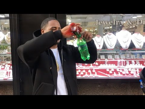 Pouring Lean at the Jewelry Store with...