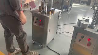 반자동 차 캔 씰링 기계, 생 철판 캔 씰링 기계, 수…