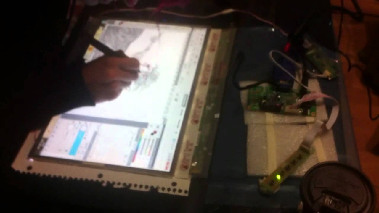 Diy Wacom Cintiq Lcd Screen Graphic Tablet Youtube
