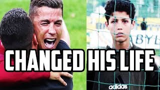 The decision that changed Cristiano Ronaldo's Life