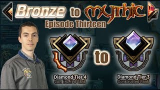 MTG Arena: Constructed Bronze To Mythic - Episode Thirteen - Diamond Tier 4 to Diamond Tier 3
