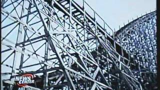 Cedar Point Mean Streak Maintenance