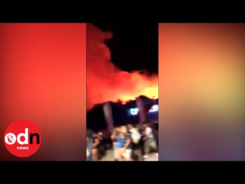 Clubbers Evacuated as Forest Fire Breaks Out on Croatian Party Island