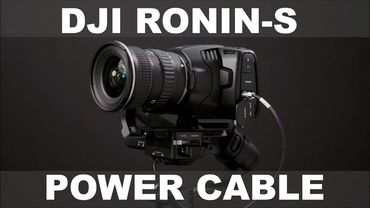 Ronin S To Bmpcc 4k 6k Cable Bmpcc 6k Footage Youtube