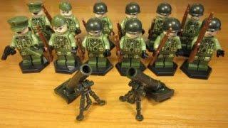 Лего американские солдаты. 2 Мировая война. Лего военные Евгения Читинского.