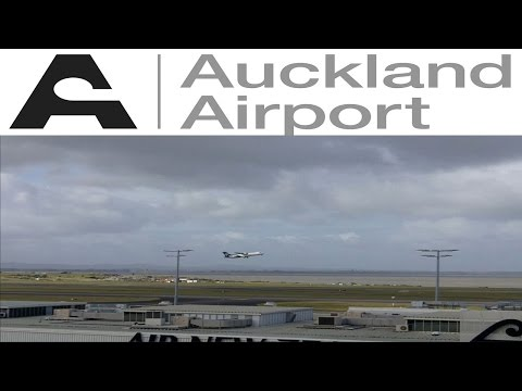 Auckland Airport Plane Spotting Compilation 25+ Minutes
