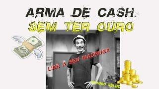 ARMAS DE CASH SEM GASTAR NENHUM OURO - TEXUGO VELHO - BLOOD STRIKE