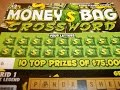 "PA LOTTERY INSTANT GAMES-MONEY BAG CROSSWORD $3 TICKET-ROUND 2""WINNER""!"