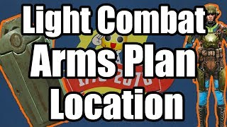 Fallout 76 - Light Combat Arms Plan Location - Where to Find Light Combat Arms