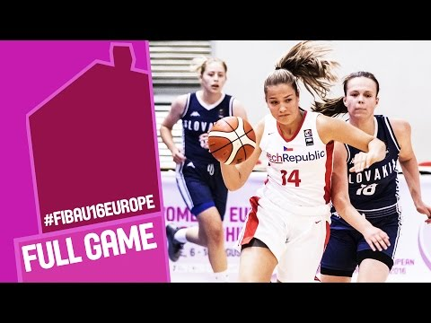 Czech Republic v Slovak Republic - Full Game - R 16 - FIBA U