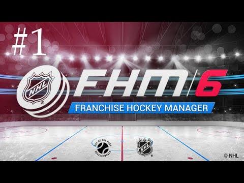 [{(Franchise Hockey Manager 6 | #1)}] YouTube Hockey League |