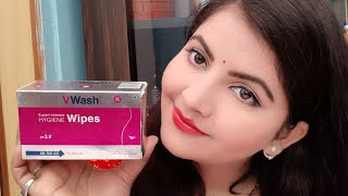V wash expert intimate hygiene wipes review | best intimate hygiene wipes for every women |