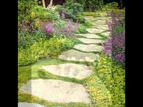 Garden Stepping Stones Ideas checkerboard herb garden heres a bunch of creative ideas for designing garden paths and walkways Garden Stepping Stone Decorations Ideas