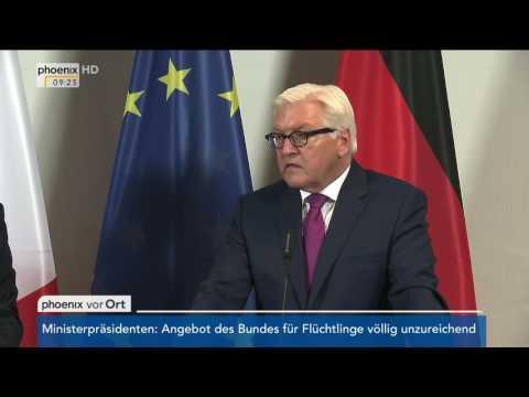Besuch des französischen Außenministers: Pressekonferenz mit Frank-Walter Steinmeier am 16.06.2016