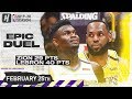 LeBron James Vs Zion Williamson EPIC Duel Highlights | Pelicans Vs Lakers | February 25, 2020