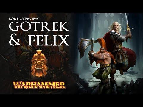 GOTREK And FELIX - Lore Overview - Total War: Warhammer 2