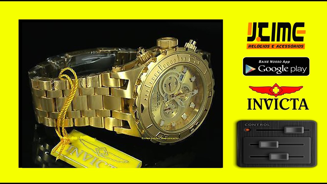 cd6b427bf0a INVICTA Reserve Arlindo Cruz - Relógio Watch - Jtime Salvador - YouTube