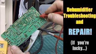 How to troubleshoot and repair a dehumidifier, Part 1.  FarmCraft101