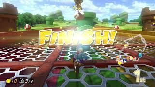 YOSHIE GOT EM SKILLS!! Mario kart 8 deluxe! Nintendo switch!