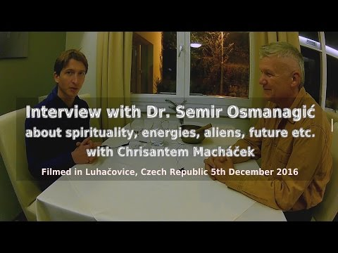 Unique interview with Osmanagich about spirituality, energies, aliens, future (Osmanagich in CZ 3/6)