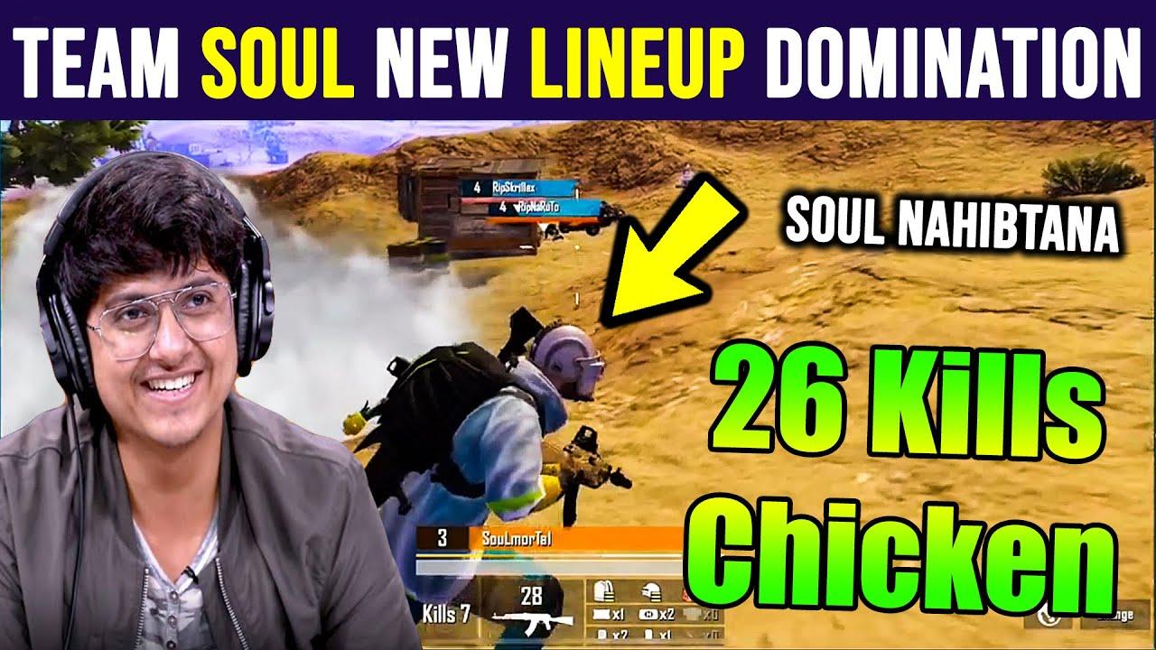 Team Soul 26 Kills Chicken Dinner In IGPL Scrims | Mortal 9 Kills Domination With Soul Nahibtana