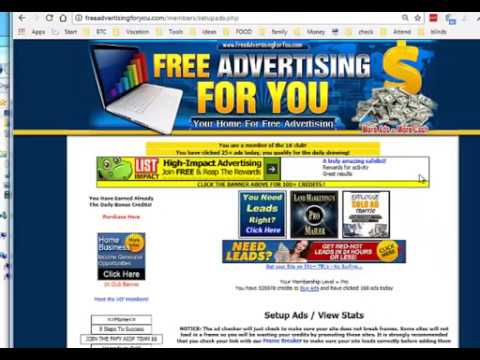 Complete Free Ad Campaign Setup for Free Advertising For You