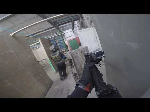 Airsoft with the Asg ICS Hera arms at the mill.