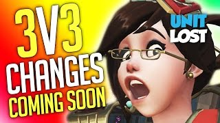 Overwatch News - 3v3 Changes Coming Soon!