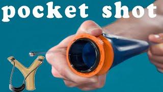 Как сделать POCKET SHOT (Рогатка) Которым можно застрелить слона.