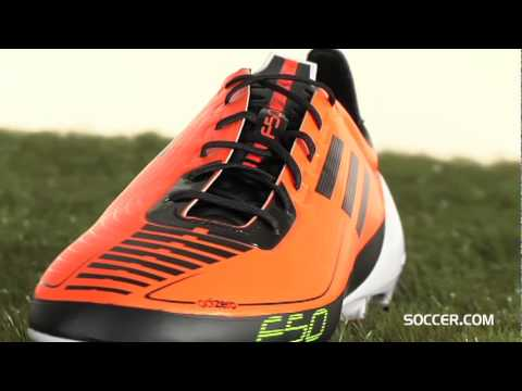 adidas F50 adizero Prime TRX FG - Warning Black White Firm Ground Soccer  Shoes - YouTube c2b36d413523b